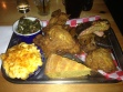 union pig & chicken 3 meat plate